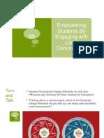 increasing authenticity through community engagement