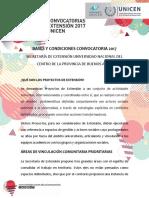 Bases y Condiciones Proyectos 2017