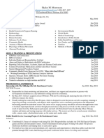 gcsu resume