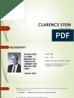 Clarence Stein