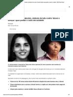 Quem era Jacqui Saburido, símbolo da luta contra 'álcool e direção' após perder o rosto em acidente - BBC News Brasil