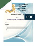 Informe N4 Intrumentación y Ley de Ohm