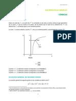 Matematicas Basicas Conicas Definicion d