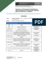 Programa Del Taller de Socialización 20-09-2013