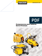 Datos tecnicos Compresor