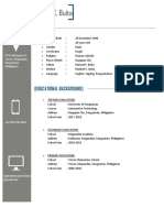 Automotive Resume Sample
