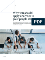 Why You Should Apply Analytics to Your People Strategy