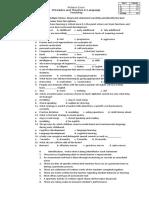 Midterm Exam Principles in Language Teaching