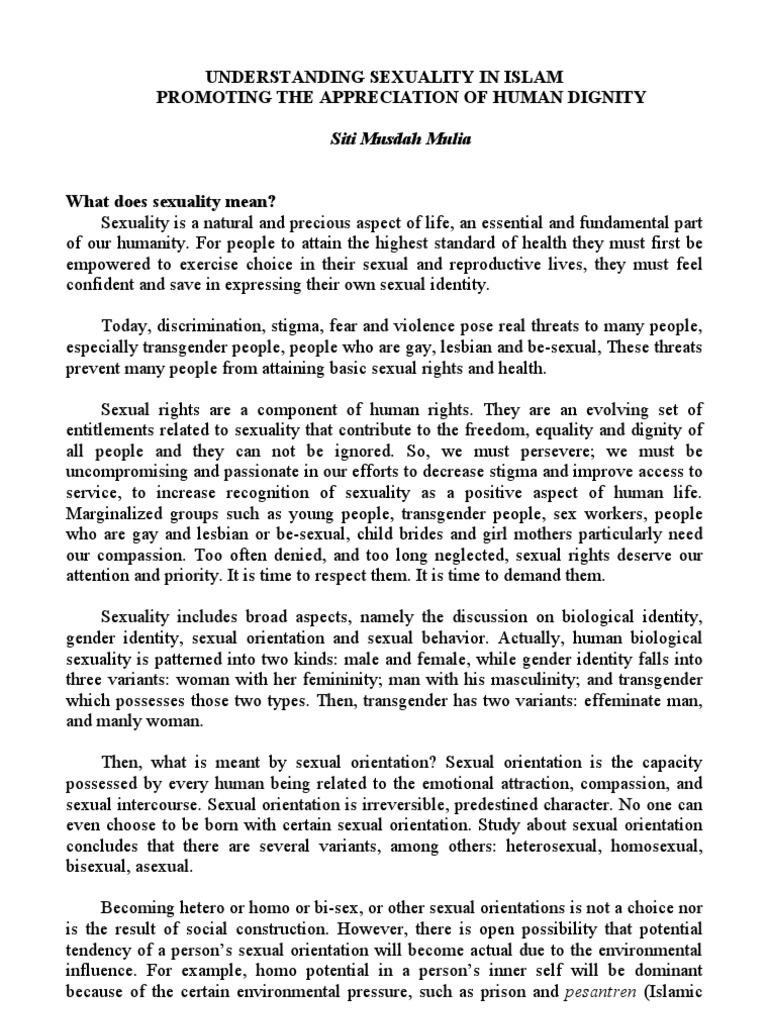 The social construction of sexuality in prison