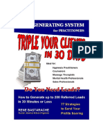 Triple Your Clients in 30 Days