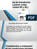 Circuitos RC y RL
