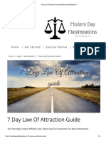 7 Day Law of Attraction Guide _ Modern Day Manifestations