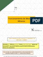 Funcionamiento de Mercados Mineros(1)