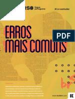 Erros Mais Comuns Língua Portuguesa