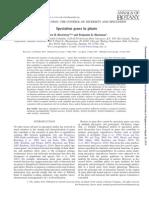 Speciation Genes in Plants