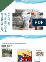 IMPLEMENTACION ISO140000 EN TALLERES DE MECANICA