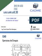 Ejercicios Curso Intensivo CAD CAM CAE
