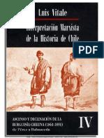 Luis Vitale - Interpretación Marxista de La Historia de Chile IV