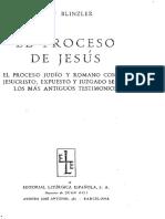 Blinzler. El proceso jurídico de Jesús.pdf