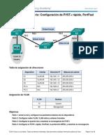 2.3.2.3 Lab - Configuring Rapid PVST+, PortFast, and BPDU Guard