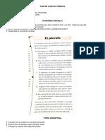 Plan de Clase- tipos de párrafos