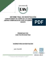 informe final de investigación UT2014