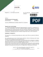 Competencias Del Concejo Directivo Escolar.