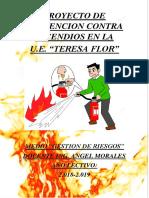 Caratula Proyecto de Prevencion Contra Incendios en La