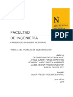 quimica proyecto