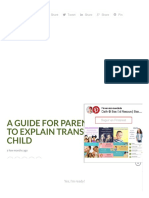 A guide for parents to explain transgender to child