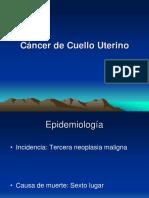 Cancer de Cuello Uterino.ppt