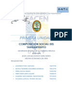 Composicion Social Del Tahuantisuyo