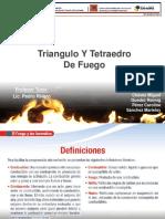 Triangulo Y Tetraedro de Fuego