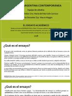 RESUMEN-El Ensayo acad+®mico