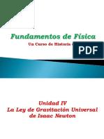 Fundamentos VI La Ley de Gravitacion UNiversal