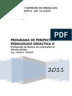 Programa Persp-didactico II