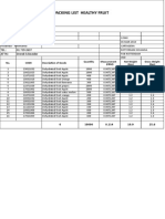 Material Presenting and Improvement Plan