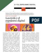 Los Trols y El Espejismo Digital