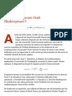 Et si Shakespeare était Shakespeare _, par William Prendiville (Le Monde diplomatique, janvier 2012).pdf