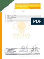 Sigo-p-ms-657.00 Criterios de Cambio Pernos Cortados Equipos Moviles Mina Subterránea