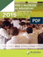Educacion y Museos - Propuestas 2015