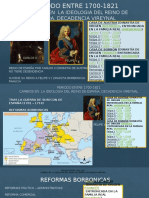 Periodo Entre 1700-1821