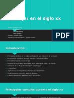 La mujer en el siglo xx chilena ..pptx