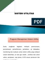 Sistem Utilitas Rsmh