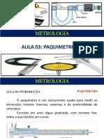 AULA 03 - Paquimetro