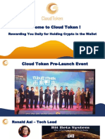 Cloud Token Wallet Full Overview Slide Presentation April 2019