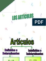 Articulos y Sustantivos