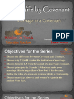 Marriage as a Covenant Part 1