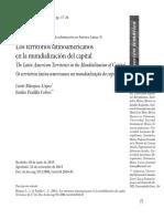 5.1 Los territorios latinoamericanos en la mundializacón del capital