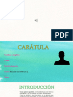 Proyecto PowerPoint Paquete de Software 2